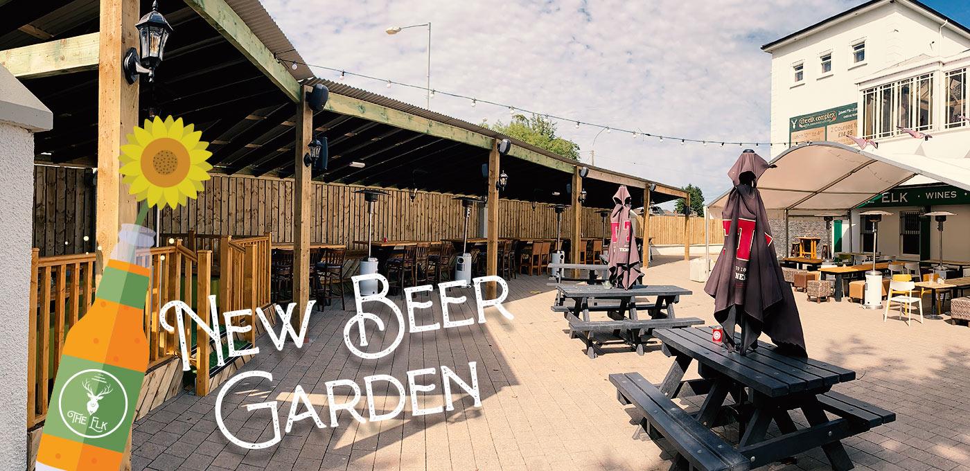 The Elk Complex Beer Garden